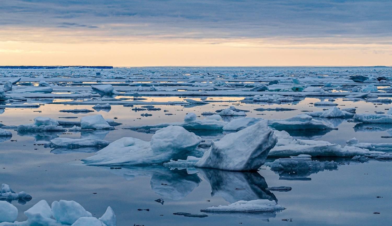 Ice sheet, Svalbard - Adrian van der Lee