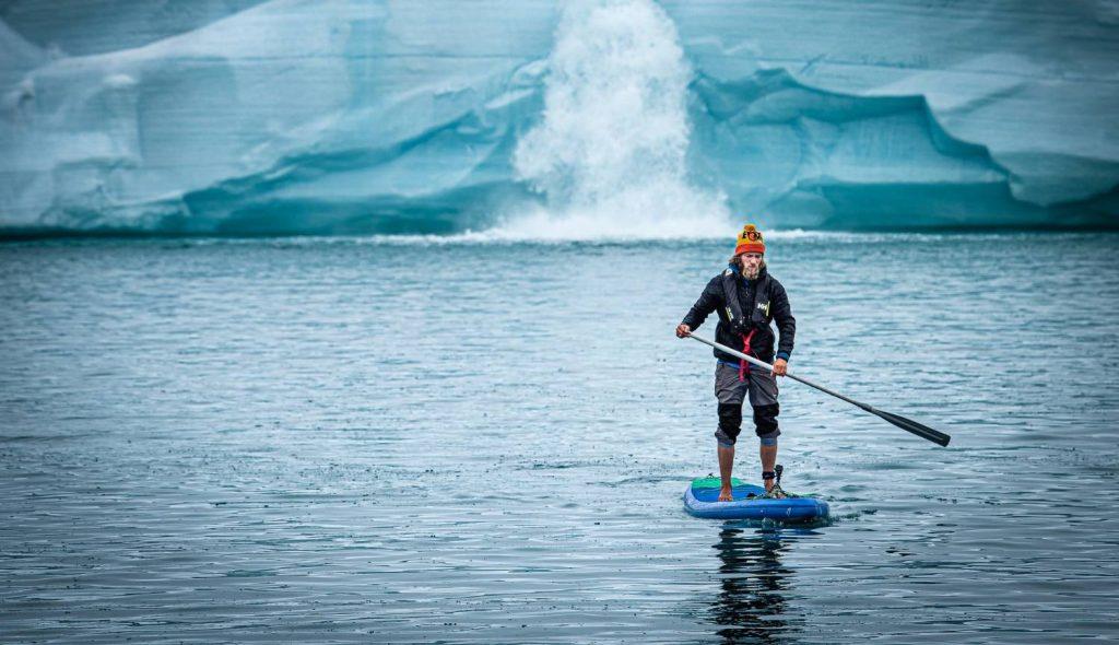Max SUP, Svalbard - Adrian van der Lee
