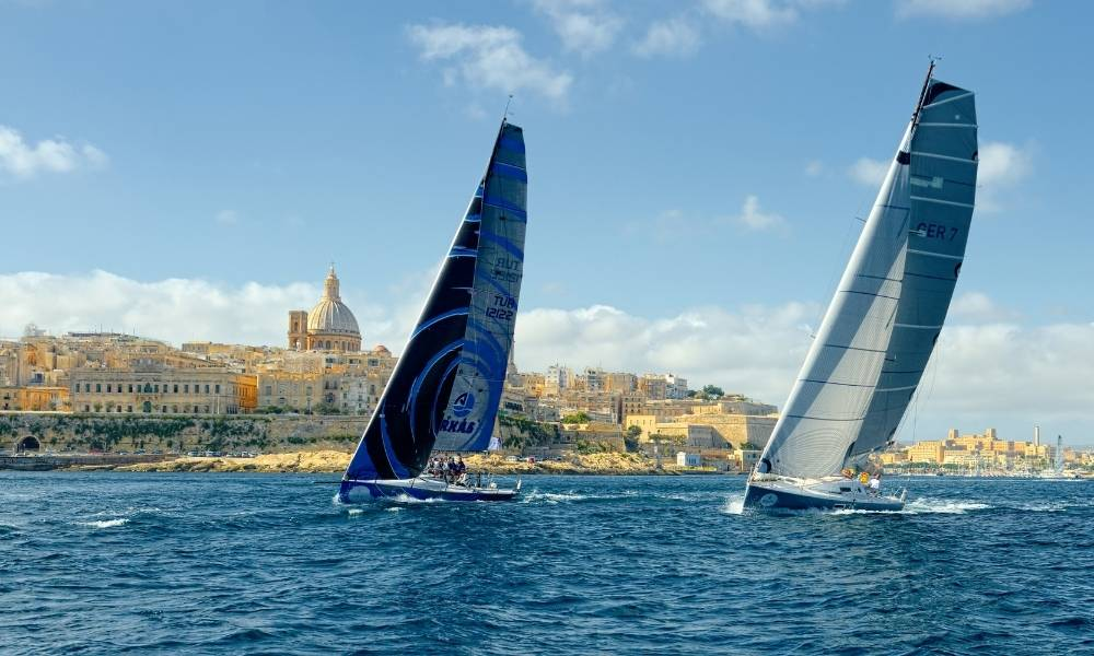 Rolex Middle Sea Race Start