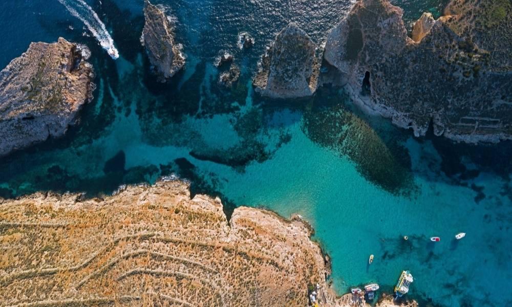 Dwejra Bay Malta